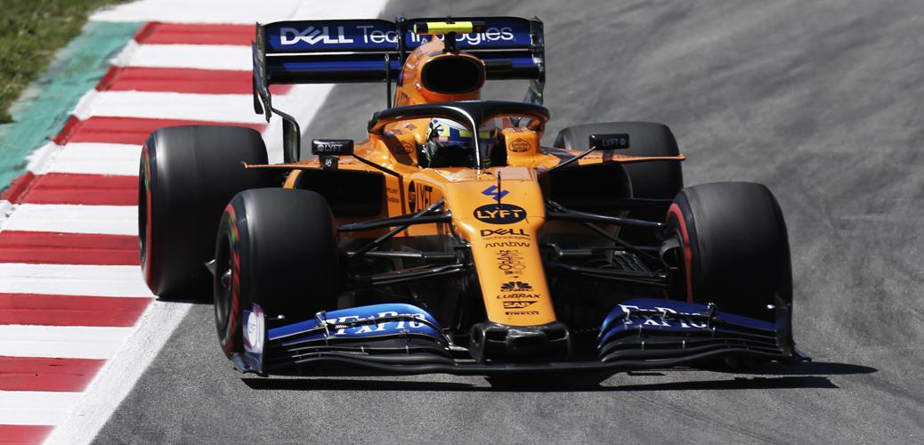 McLaren MCL34, pilotado por Lando Norris en el Gran Premio de España de 2019, Foto: McLaren Racing