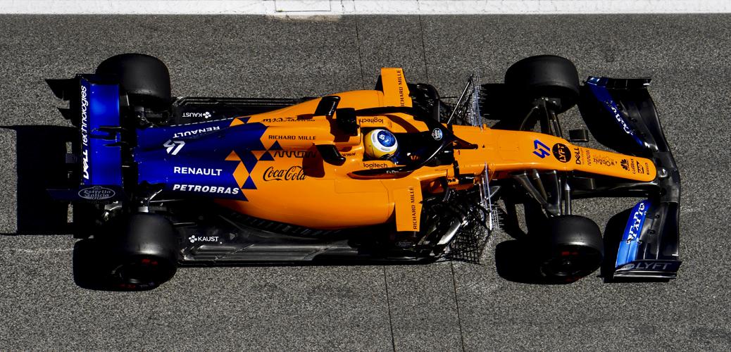 Sergio Sette Camara, probador, en los test de Barcelona en Mayo, Foto: McLaren Racing
