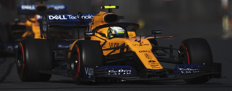 Gran Premio de Azerbaijan 2019, Lando Norris, McLaren MCL34, 2019, Foto: McLaren