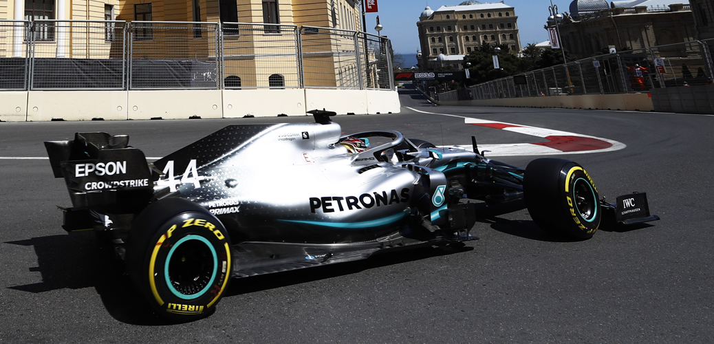 Calificación del Gran Premio de Azerbaijan de 2019 © LAT Images for Mercedes-Benz Grand Prix Ltd