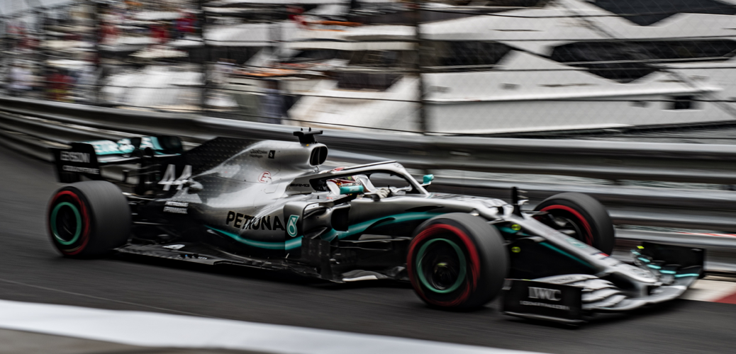 Mercedes F1 W10 EQ Power+. Entrenamientos del Jueves, Gran Premio de Mónaco de 2019 © LAT Images for Mercedes-Benz Grand Prix Ltd