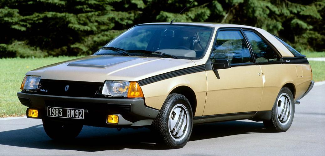 Renault Fuego Turbodiesel, 1983, Foto: Renault
