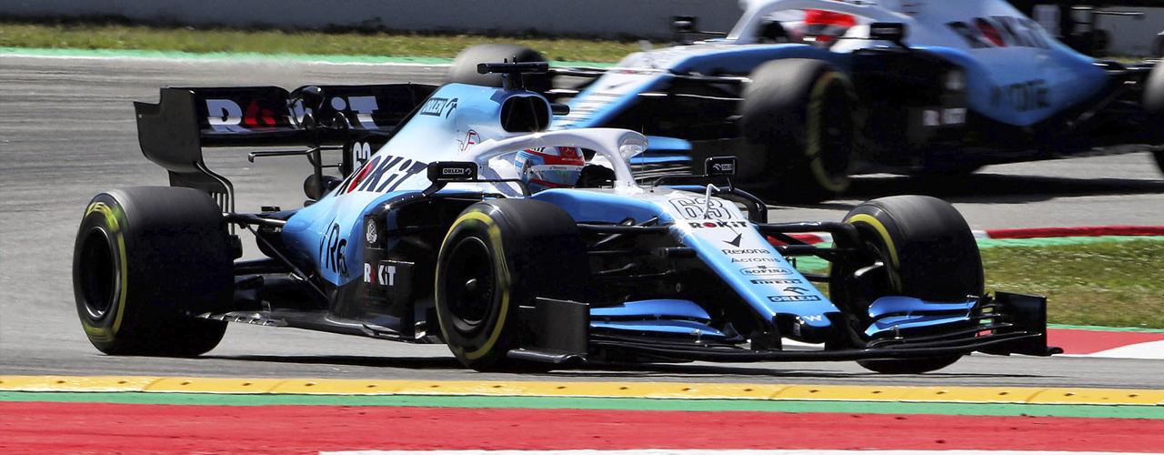 George Russell en los entrenamientos del viernes para el Gran Premio de España 2019, Foto: Williams