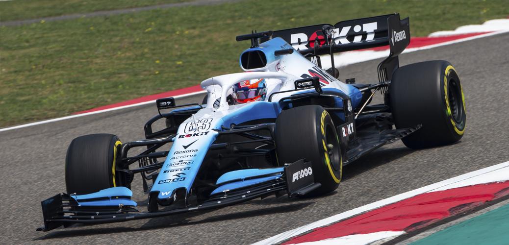 George Russell con el Williams-Mercedes FW42 en los entrenamientos del viernes del Gran Premio de China 2019, Foto: Williams