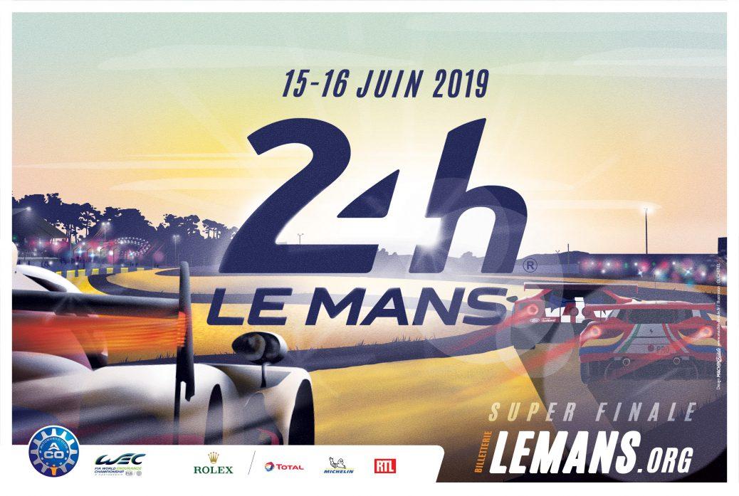 Poster 24 Horas de Le Mans de 2019