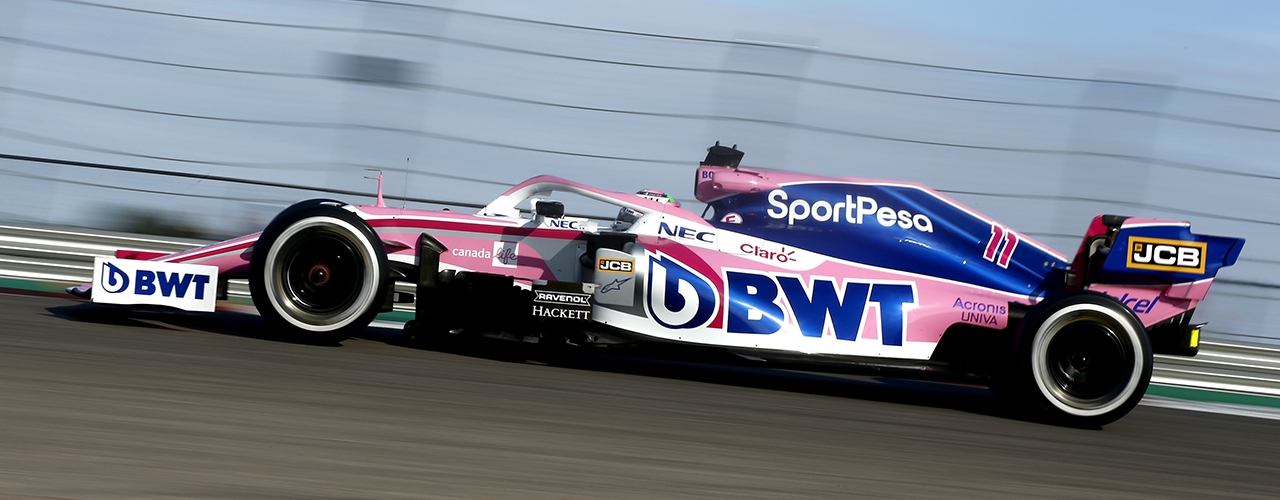 Racing Point BWT-Mercedes RP19, Gran Premio de Estados Unidos, Foto: Racing Point
