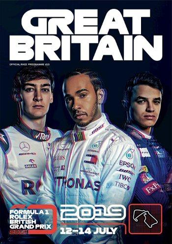 Póster Gran Premio de Gran Bretaña 2019