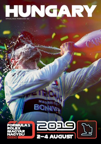 Póster Gran Premio de Hungría 2019