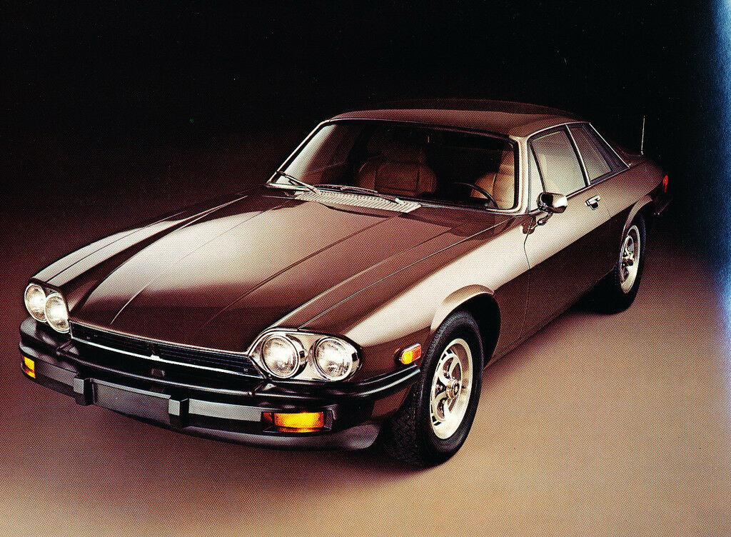 Jaguar XJS de 1976, Foto de catálogo de época