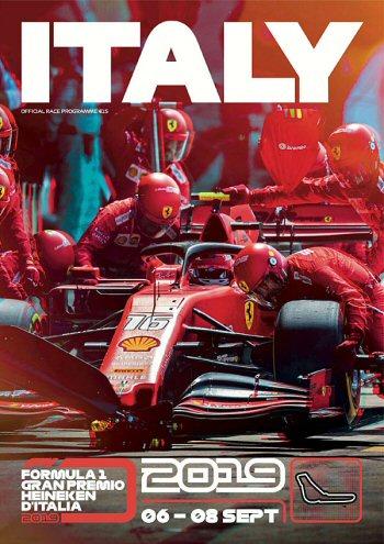 Póster Gran Premio de Italia 2019