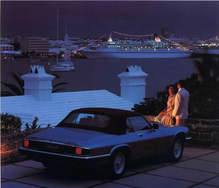 Jaguar XJS Convertible, Foto de catálogo, año 1991.