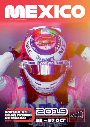 Póster Gran Premio de México 2019