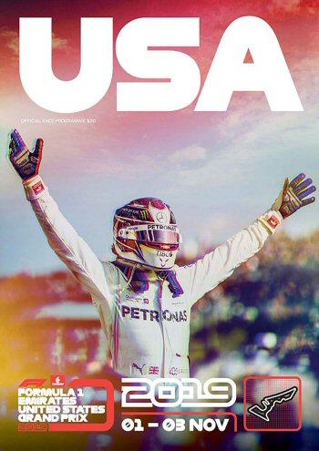 Póster Gran Premio de Estados Unidos 2019