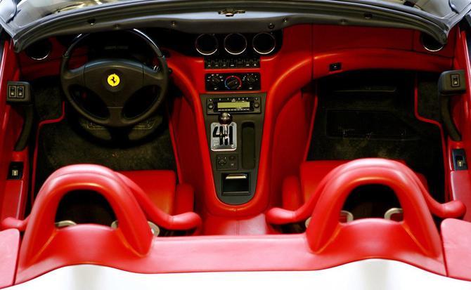 Interior del GTZ, Foto: Zagato