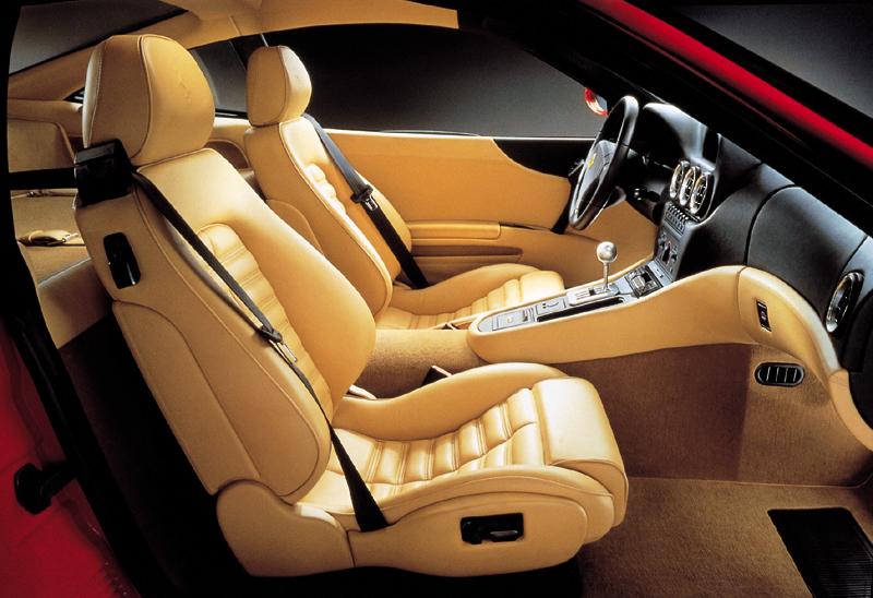 Interior del Ferrari 550 Maranello, Foto: Ferrari