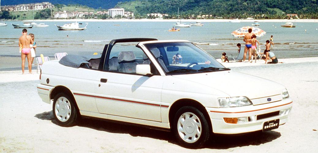 Escort 90 Cabrio. Foto: Ford