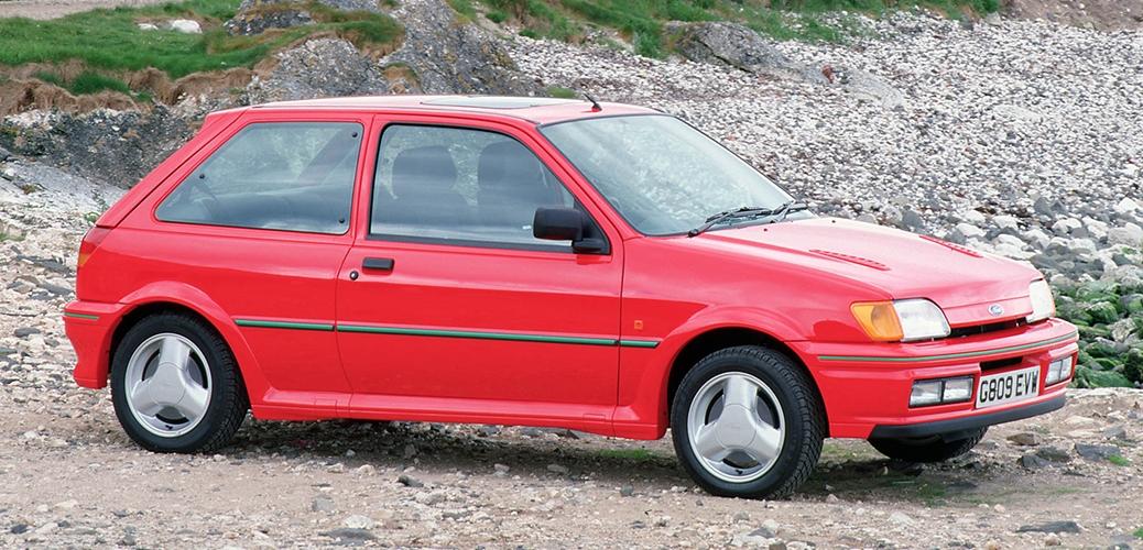 Ford Fiesta Mk2 Turbo, 1989 - Foto: Ford