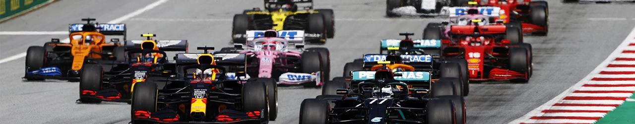 Salida del Gran Premio de Austria de 2002, Fórmula 1 2020, Foto: Mercedes GP /LAT