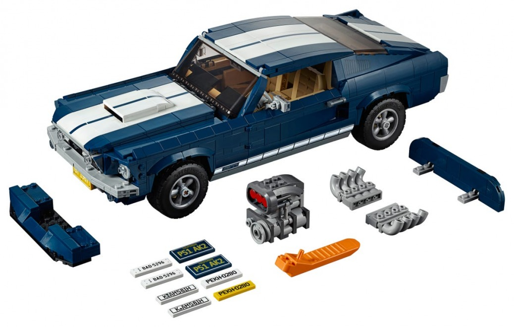 Coches de LEGO, Ford Mustang