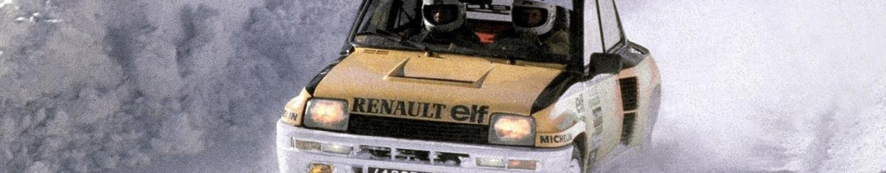 WRC 1981, Jean Ragnotti, Foto: Renault