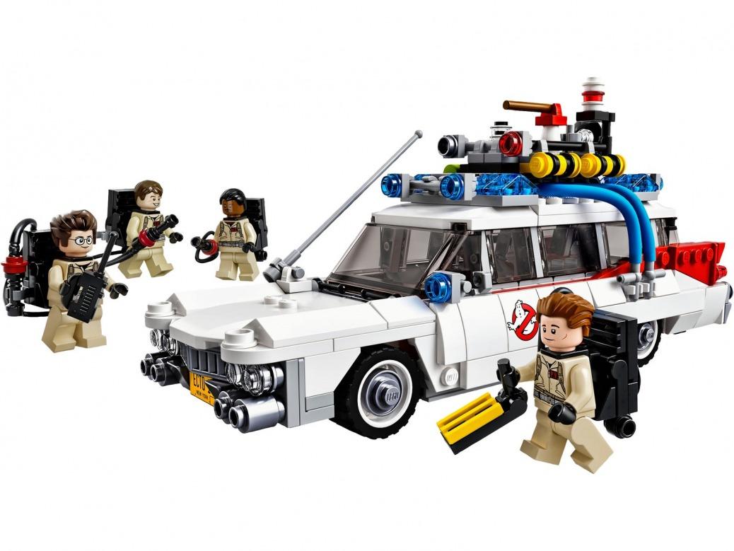 Coches de LEGO. Ghostbusters Ecto-1