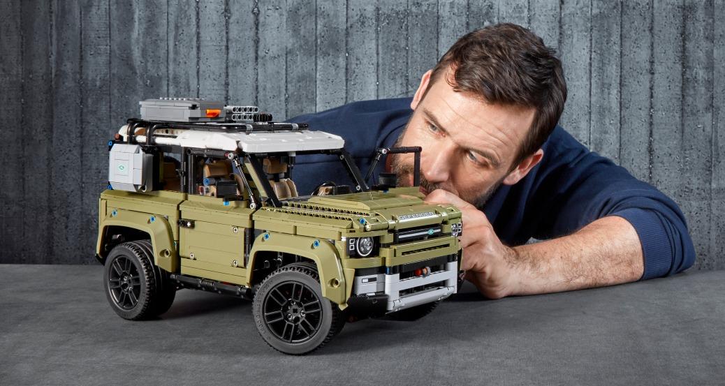Set Land Rover Defender (Coches de LEGO)
