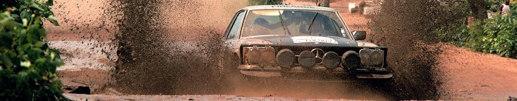 WRC 1979, Hannu Mikkola en el Rally de Costa de Marfil, Foto: Daimler