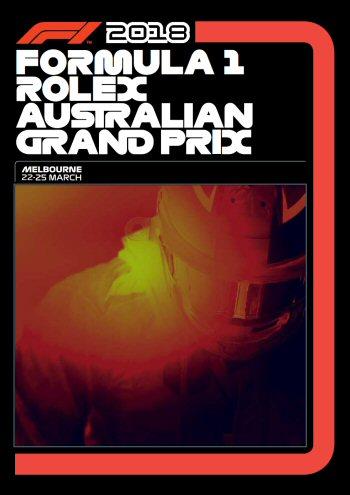 Póster Gran Premio de Australia 2018