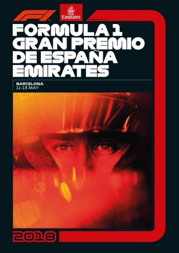 Póster Gran Premio de España 2018