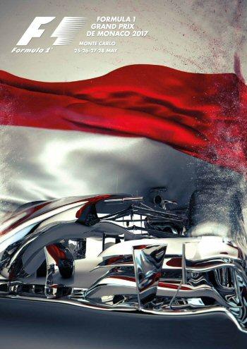 Póster Gran Premio de Mónaco 2017