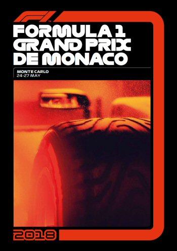 Póster Gran Premio de Mónaco 2018