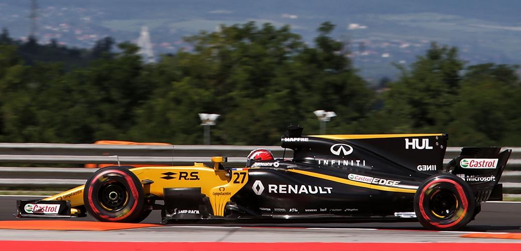 Renault RS17, Gran Premio de Hungría 2017, Foto: Renault