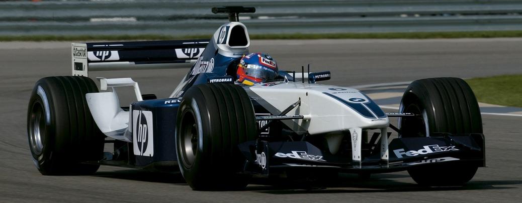 Williams-BMW FW24, Juan Pablo Montoya en el Gran Premio de Estados Unidos, Foto: BMW