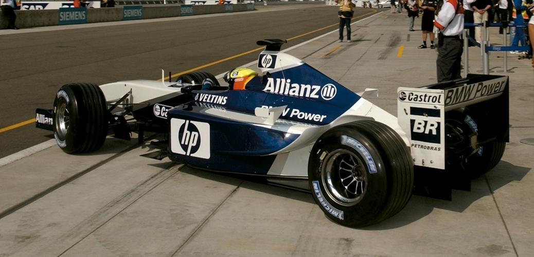 Williams-BMW FW24, Ralf Schumacher en el Gran Premio de Estados Unidos, Foto: BMW