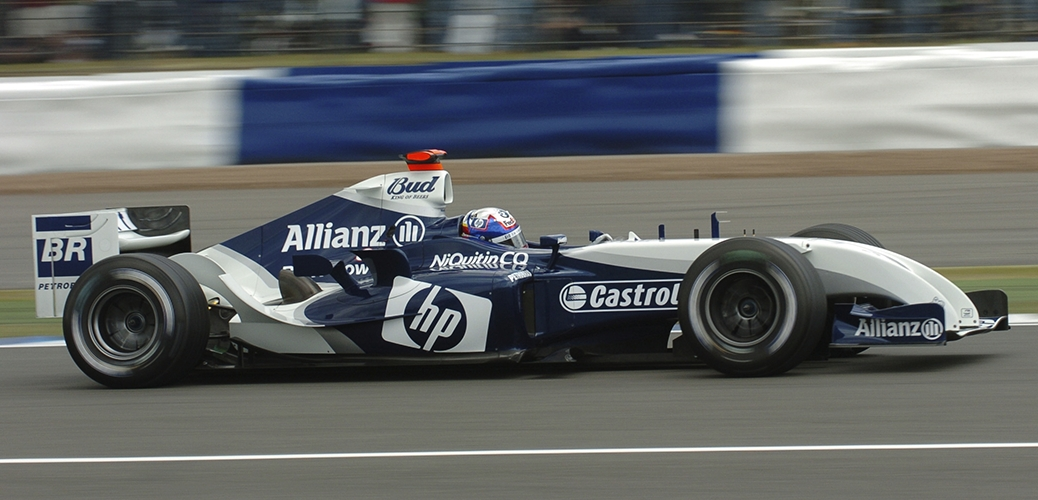 Williams-BMW FW26, Gran Premio de Gran Bretaña, Marc Gené. Foto: BMW