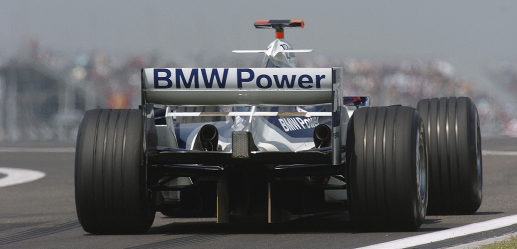 Williams-BMW FW26, Gran Premio de China, Juan Pablo Montoya. Foto: BMW