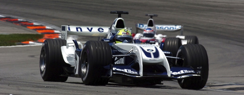 Williams-BMW FW26, Ralf Schumacher en el Gran Premio de Estados Unidos, Foto: BMW