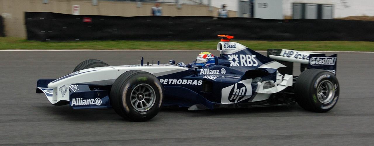 Williams-BMW FW27, Gran Premio de Brasil, Foto: BMW Group