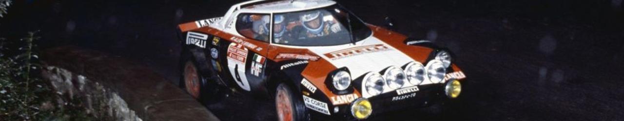 WRC 1978, Markku Alen en el Rally de Sanremo, Foto: Lancia