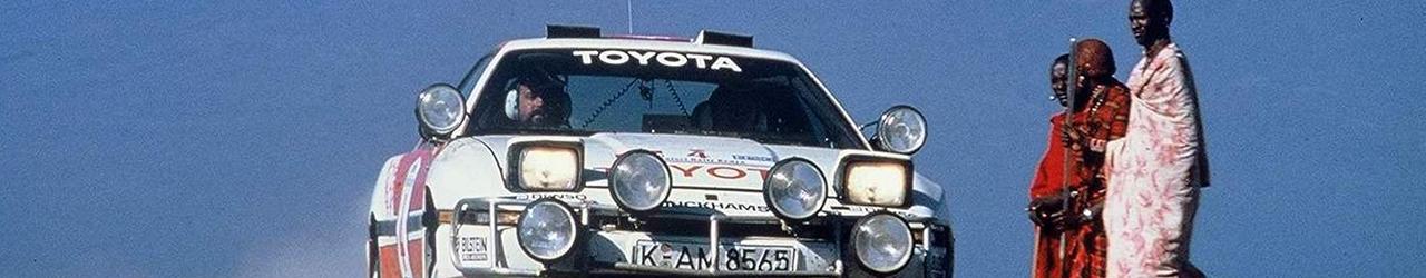 WRC 1987, Toyota en el Safari de Kanye, Foto: Toyota