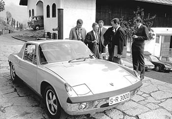 En 1969, se entrega una unidad 914/8 a Ferry Porsche, Foto: porsche AG