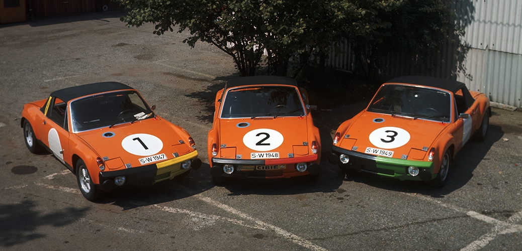 914/6 GT fotografiados en antes de participar en el Marathon de La Route, Foto: Porsche AG