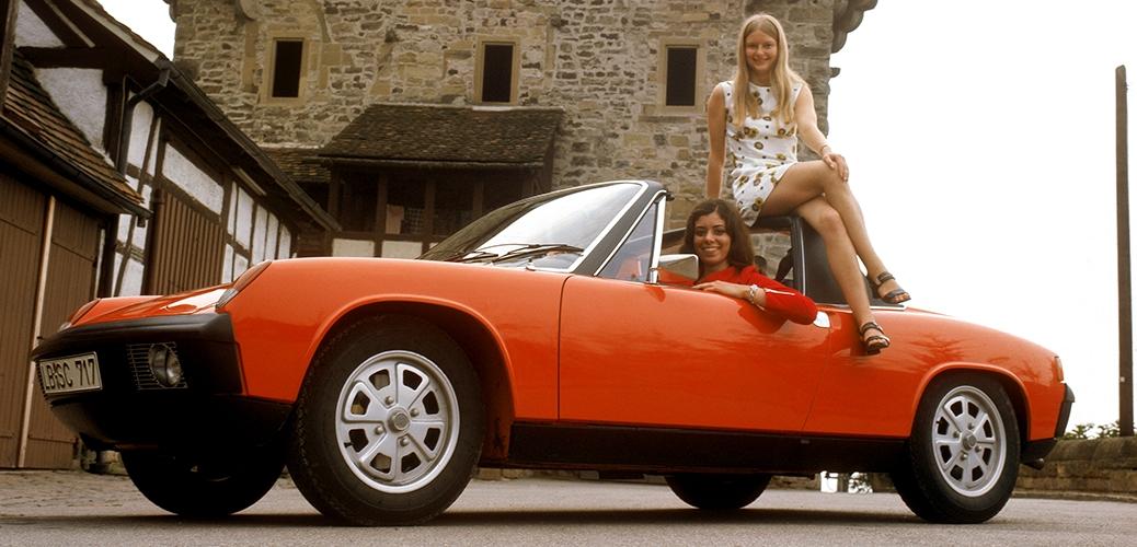 VW-Porsche 914/4 1973, Foto: Porsche-AG