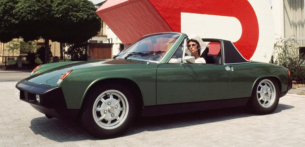 Modelo de 1975, 914/4, Foto: Porsche