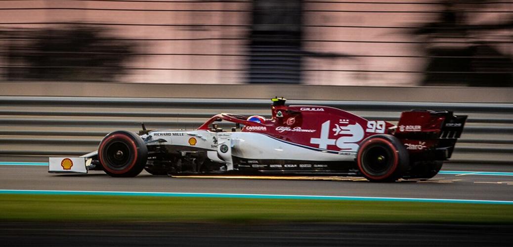 Alfa Romeo-Ferrari C38, Gran Premio de Abu Dhabi, Foto: Alfa Romeo