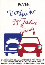 Salón del Automóvil de Fráncfort 1985
