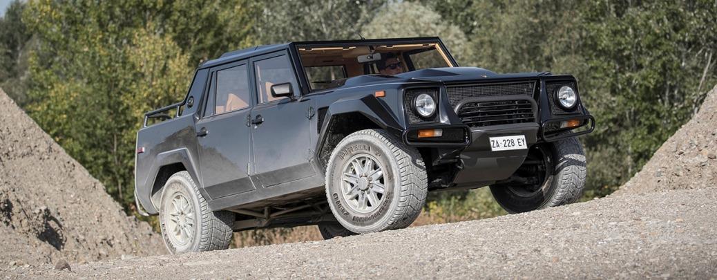 Lamborghini LM002, Foto: Automobili Lamborghini S.p.A.
