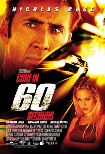 """Poster """"60 segundos"""""""