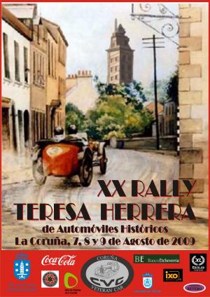 Cartel XX Rally Teresa Herrera