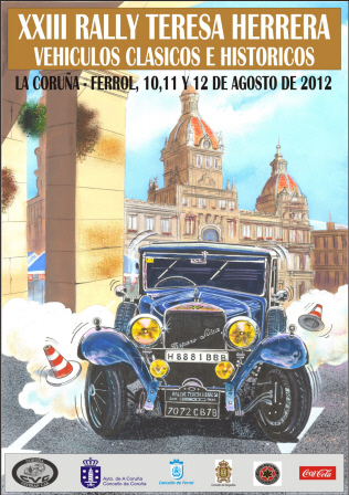 XXIII Rallye Teresa Herrera de Automóviles Históricos